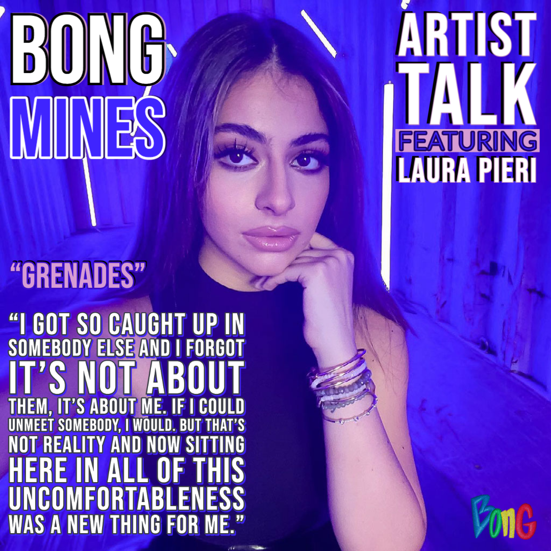 Laura Pieri Bong Mines Artist Talk cover