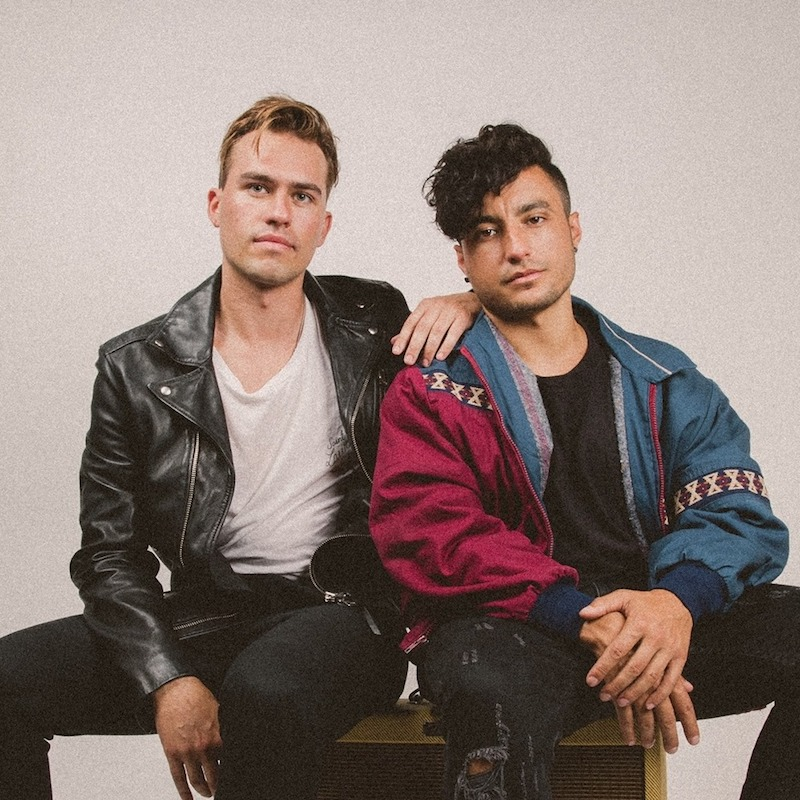 Loud Luxury press photo sitting next to each other