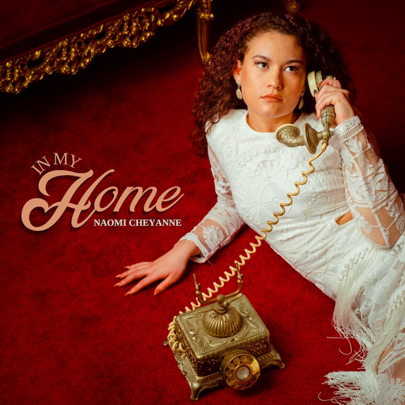 "Naomi Cheyanne - ""In My Home"" EP cover art"