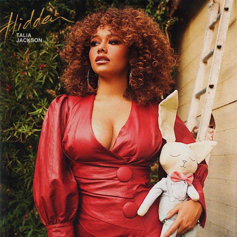 "Talia Jackson - ""Hidden"" song cover art"