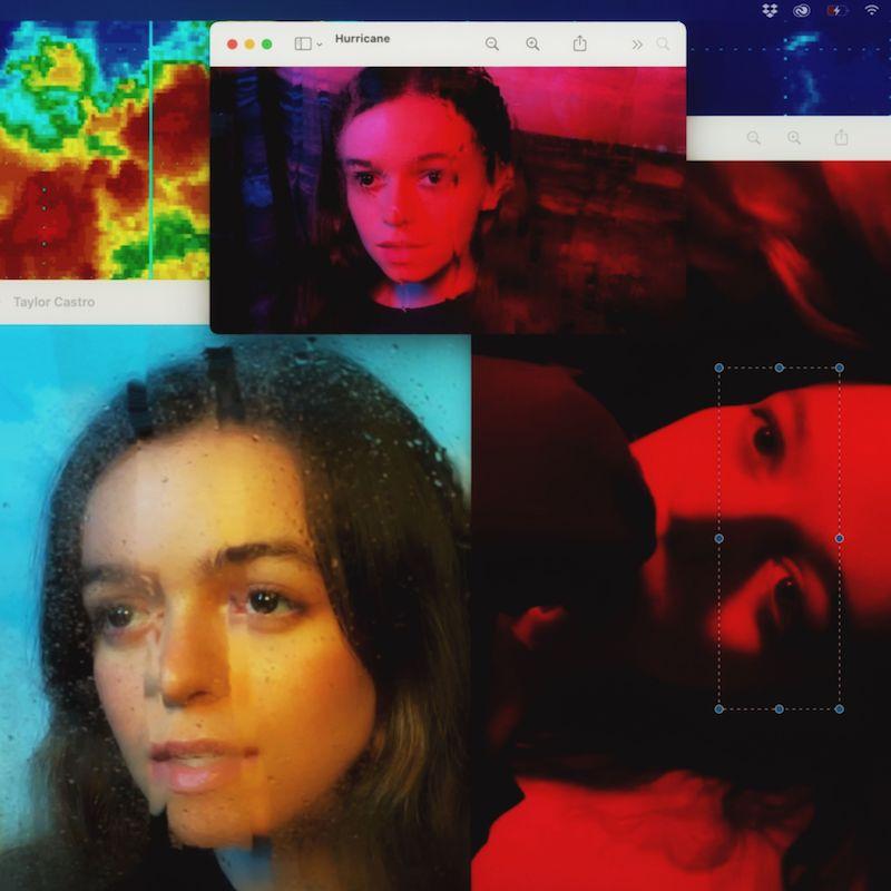 "Taylor Castro - ""Hurricane"" song cover art"