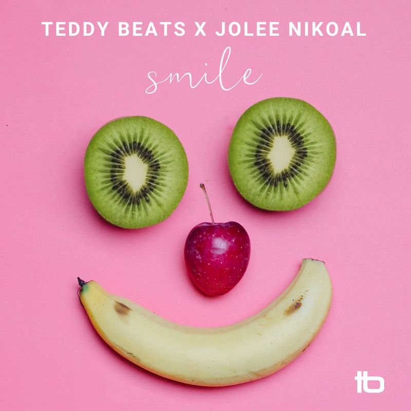 """Teddy Beats and Jolee Nikoal - """"Smile"""" song cover art"""