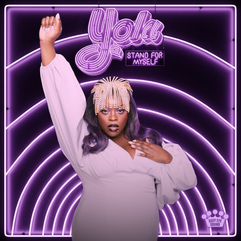 """Yola - """"Stand for Myself"""" album cover art"""