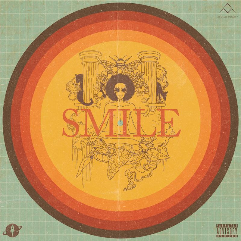 """Apollo Mighty - """"Smile"""" song cover art"""