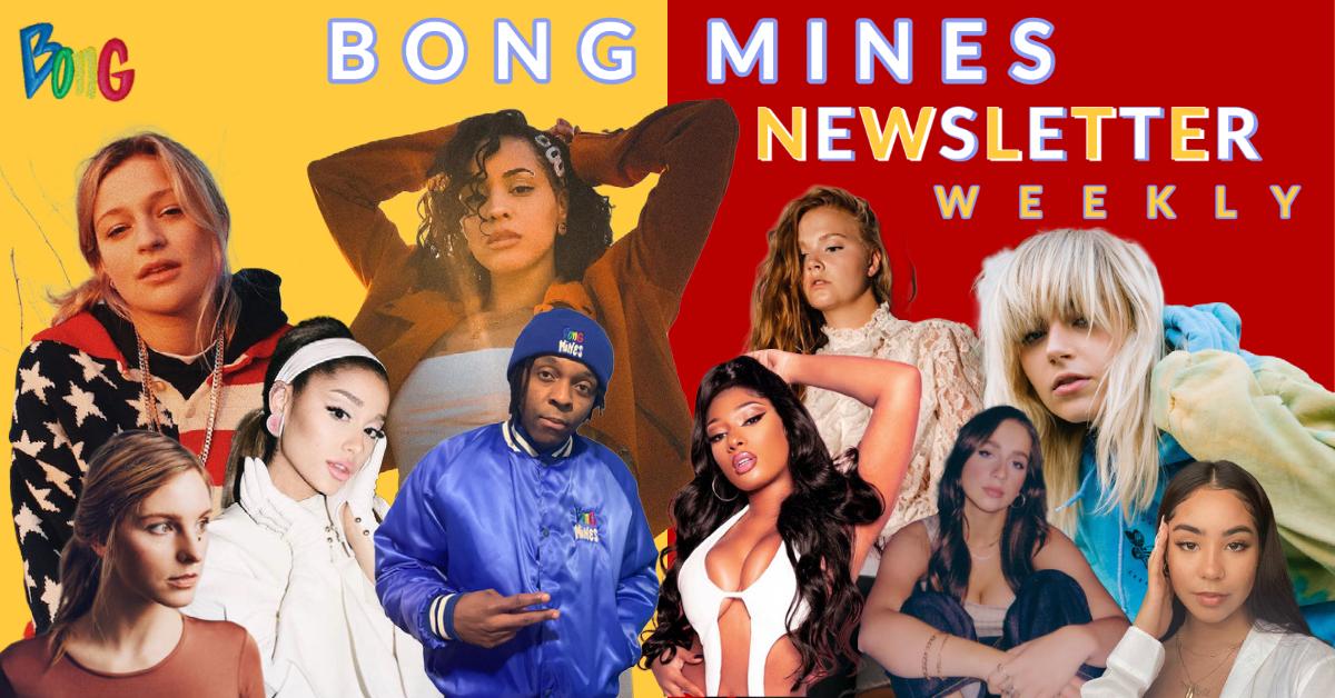 Bong Mines Newsletter banner