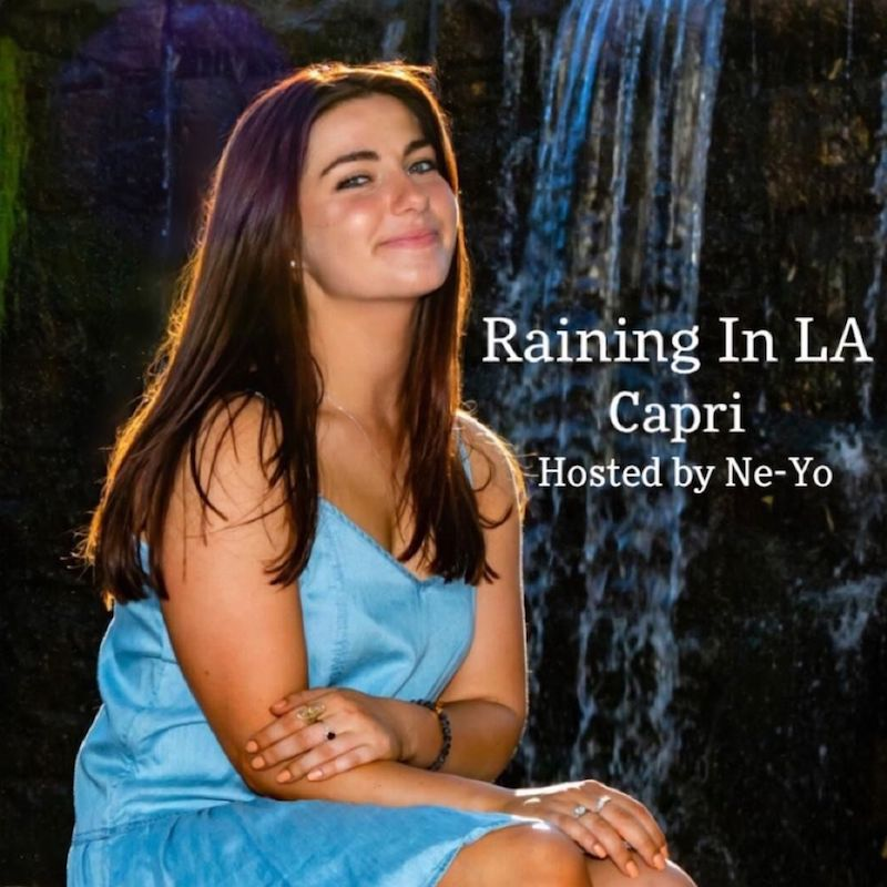 "Capri - ""Raining In LA"" song cover art"
