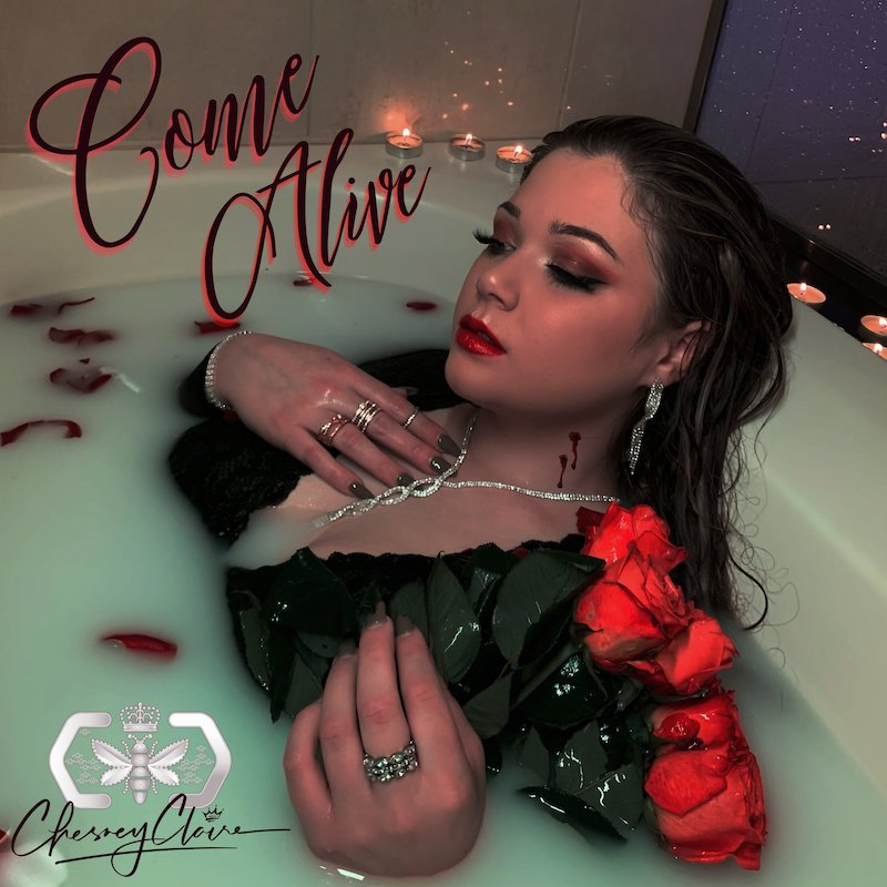 """Chesney Claire - """"Come Alive"""" song cover art"""