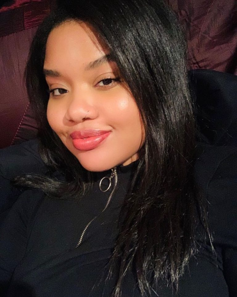 Cheyenne Nicole press photo (close-up selfie)
