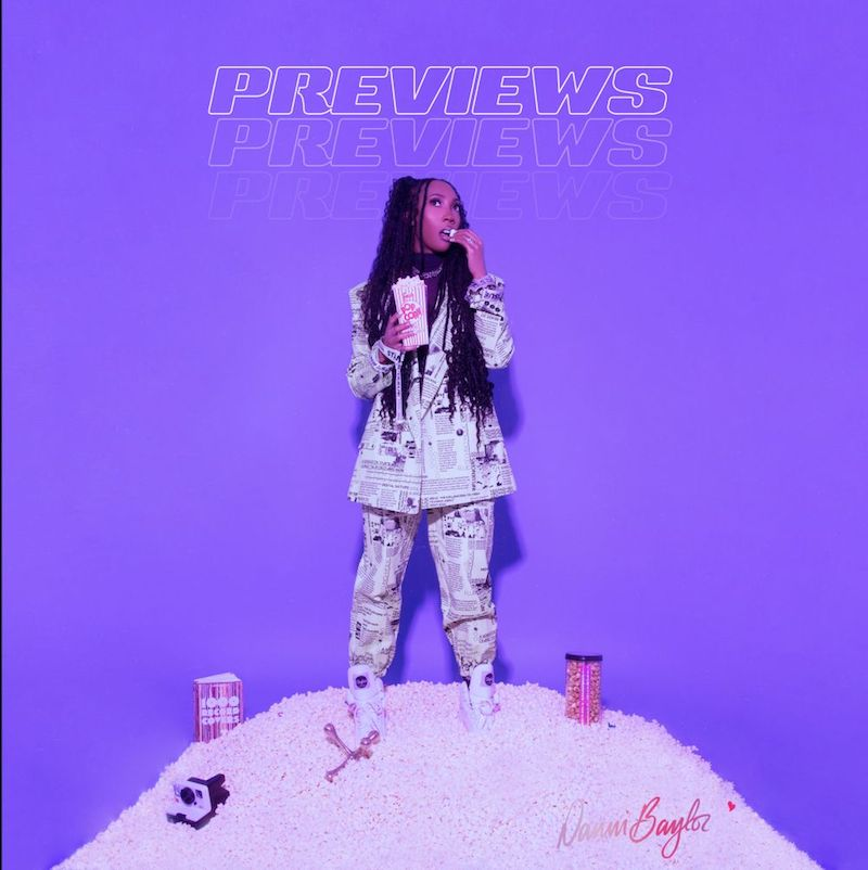 """Danni Baylor - """"Previews"""" song cover art"""