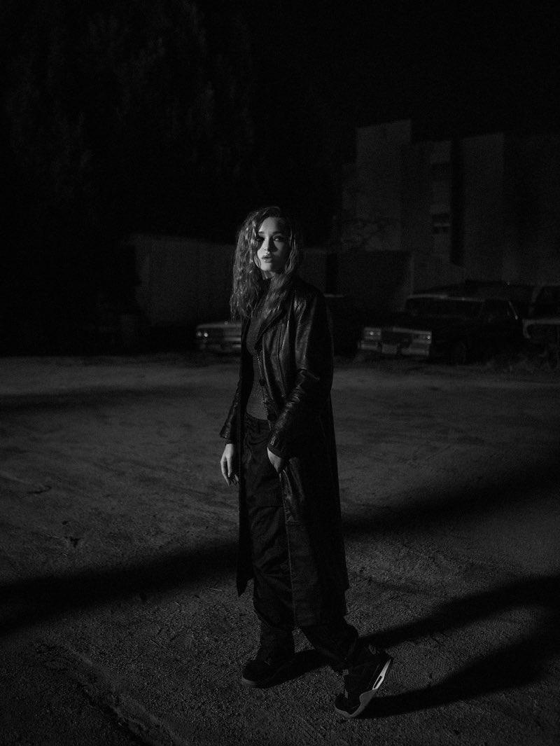 "Elley Duhé - ""Kids of the Night"" press photo at night"