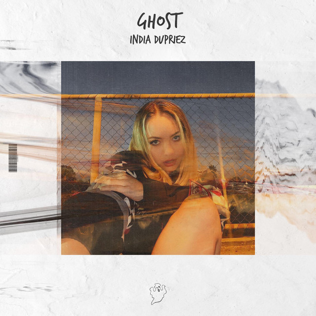 """India Dupriez - """"Ghost"""" song cover art"""