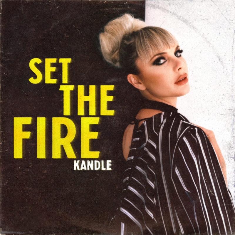 "Kandle - ""Set the Fire album cover art"