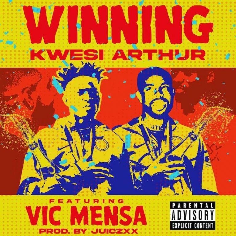 """Kwesi Arthur - """"Winning"""" song cover art"""