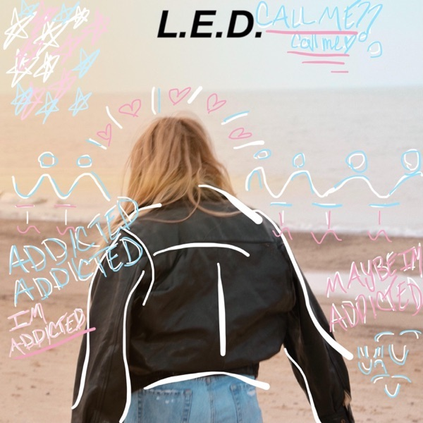 """L.E.D. - """"Addicted"""" song cover art"""