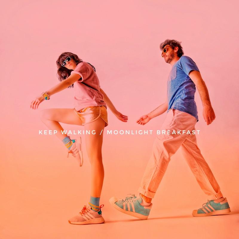 "Moonlight Breakfast - ""Keep Walking"" song cover art"