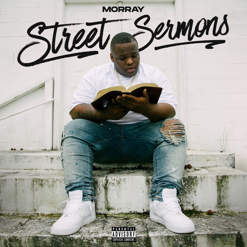 """Morray - """"Street Sermons"""" album cover art"""