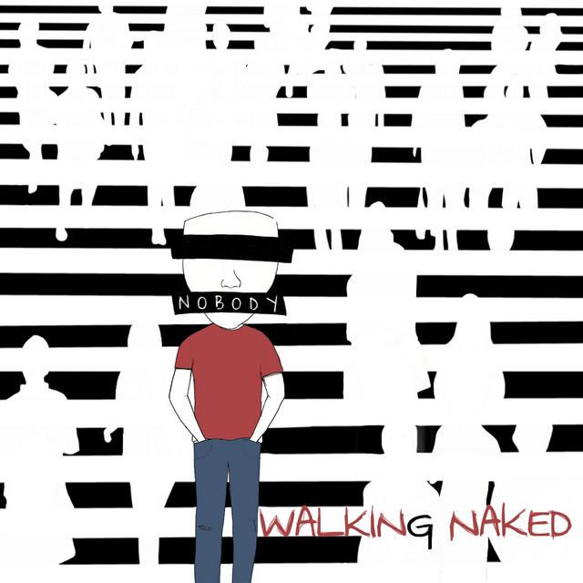 "Nobody - ""Walking Naked"" song cover art"
