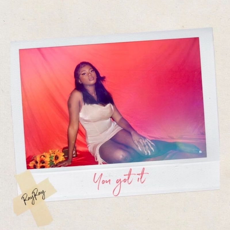"""RAYRAY - """"You Got It"""" song cover art"""