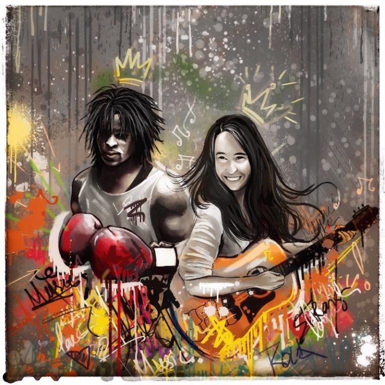 """Silent Nancy & Shaka the King - """"Tell Me What Side I'm On"""" song cover art"""