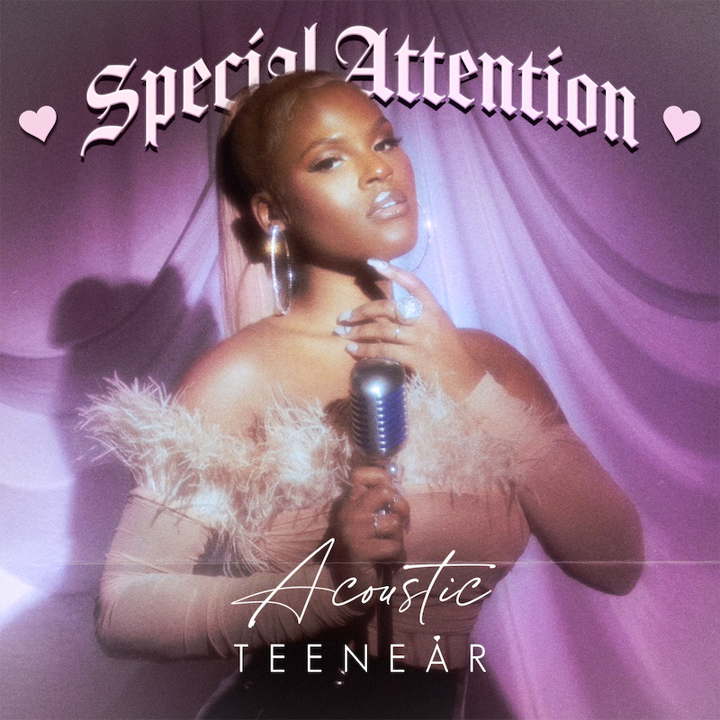 """Teenear – """"Special Attention"""" song cover art"""