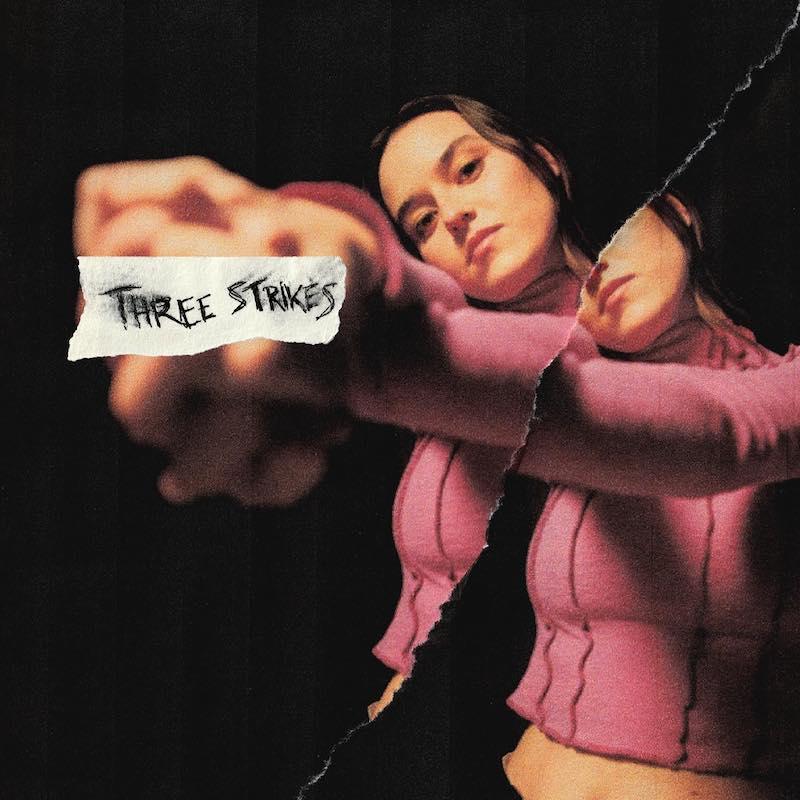 "penelope Q - ""Three Strikes"" song cover art"