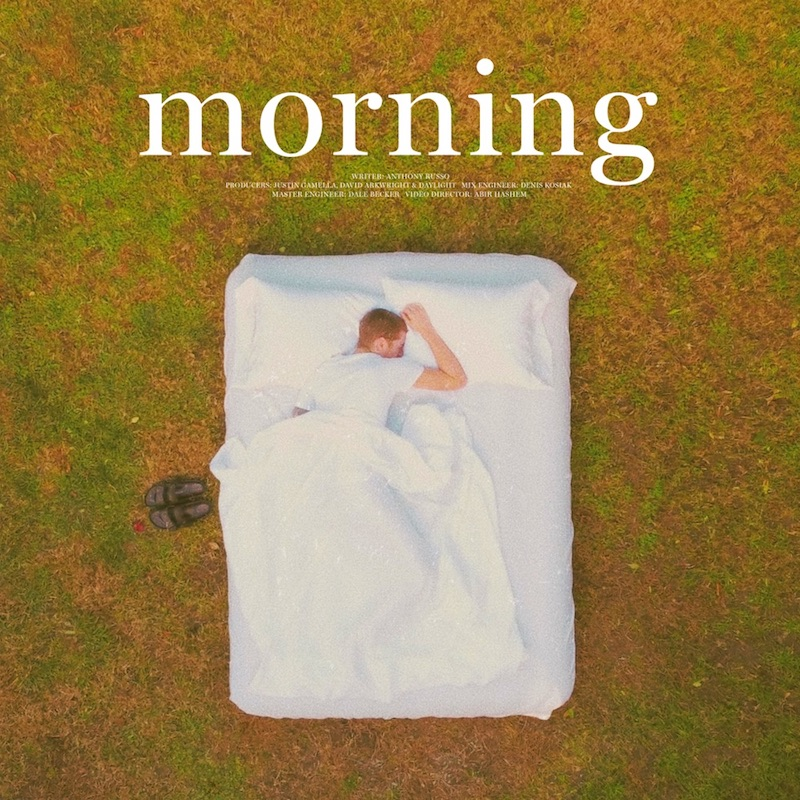 """Anthony Russo - """"Morning"""" song cover art"""