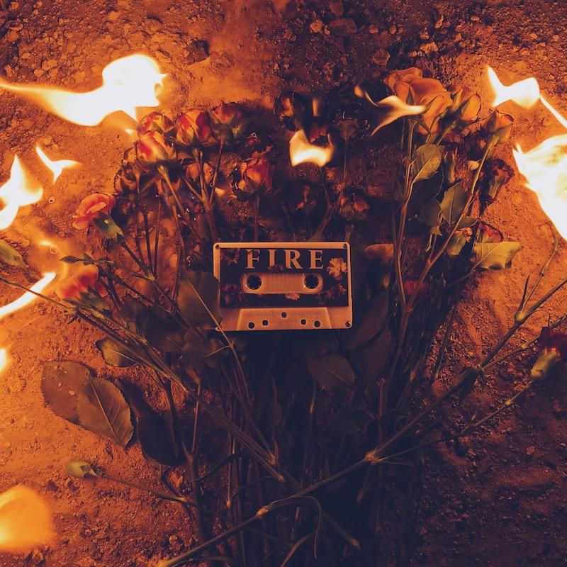 """E L E Y - """"Fire"""" song cover art"""