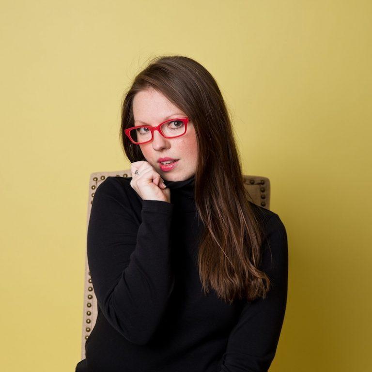 Grace Morrison press photo wearing a black sweater