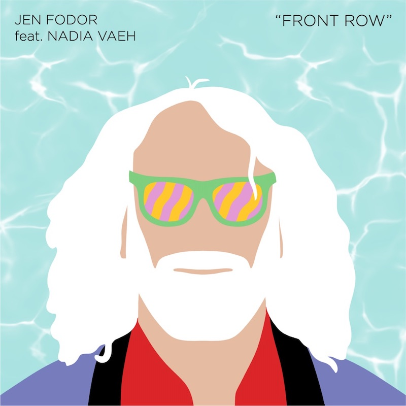 """Jen Fodor - """"Front Row"""" song cover art"""