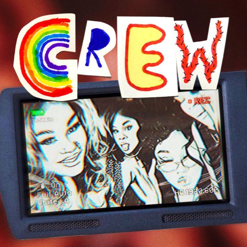 "KAYPAIGE - ""Crew"" single cover art"
