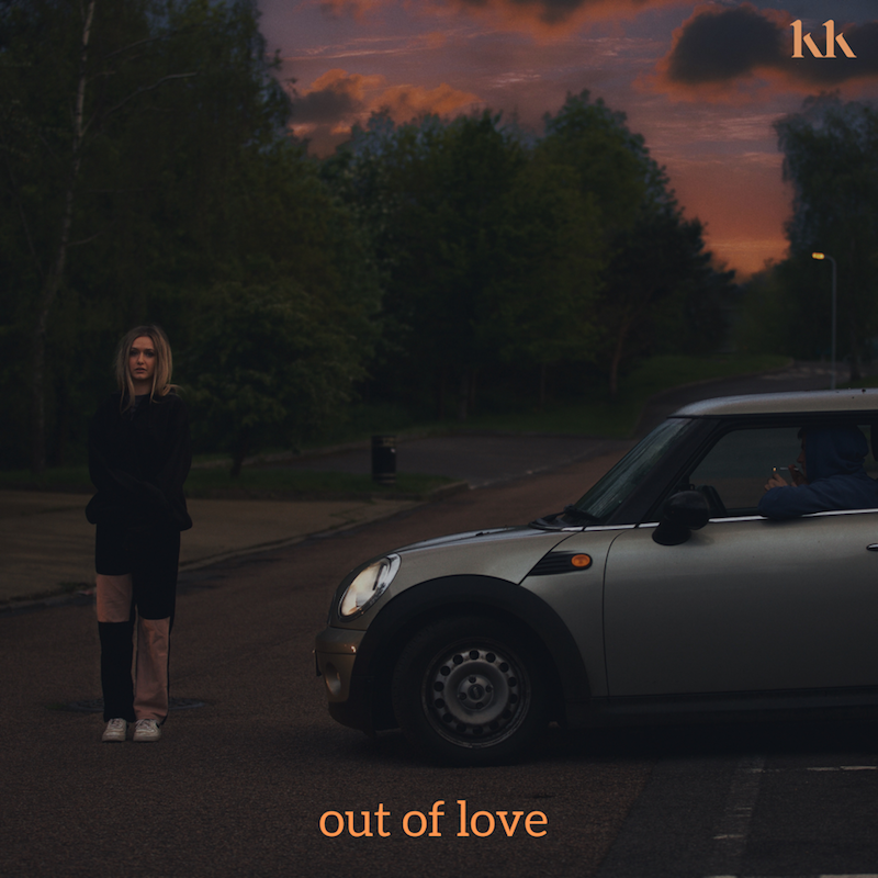 """Katie Kittermaster - """"Out of Love"""" song cover art"""