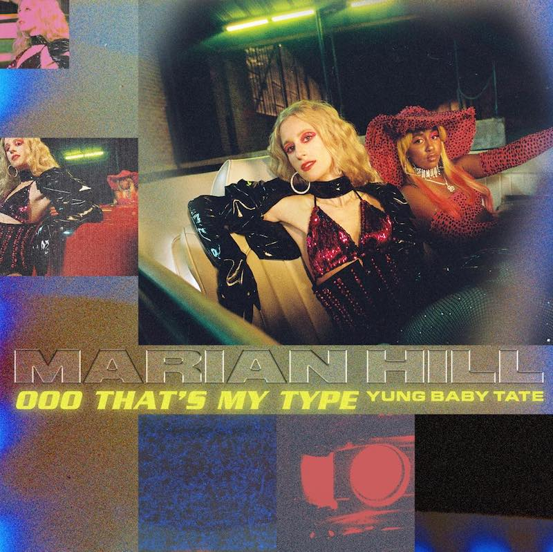 """Marian Hill & Yung Baby Tate - """"oOo that's my type"""" song cover art"""