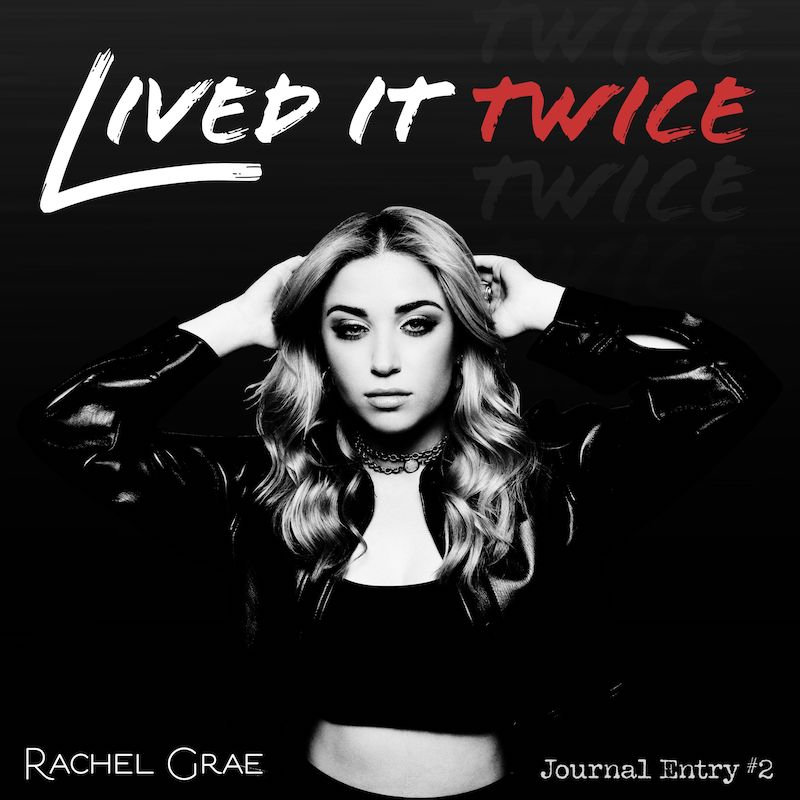 """Rachel Grae - """"Lived It Twice"""" song cover art"""