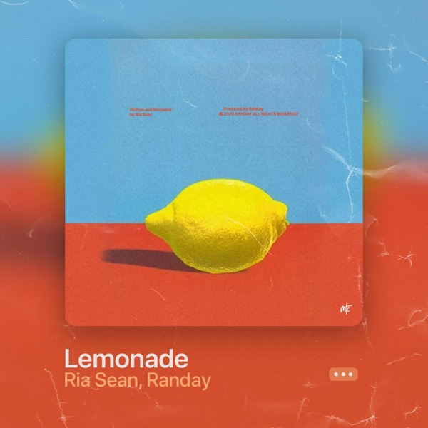 "Ria Sean - ""Lemonade"" song cover art"