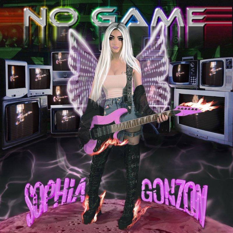 "Sophia Gonzon - ""No Game"" song cover art"