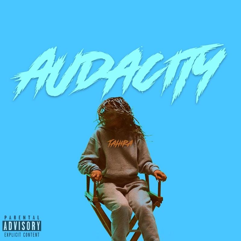 """Tahira - """"Audacity"""" song cover art"""