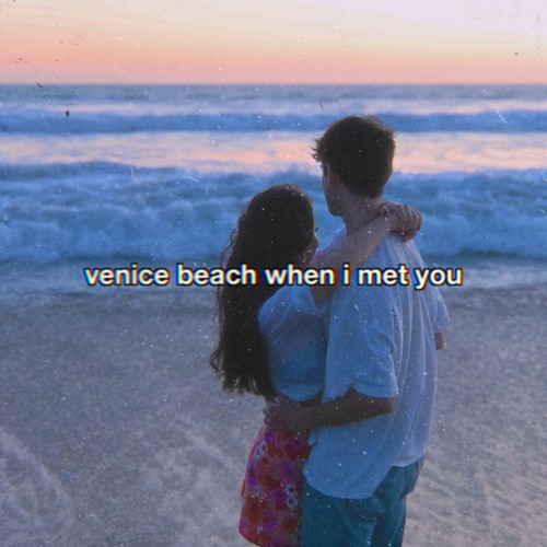 """tiger lily - """"venice beach when i met you"""" song cover art"""