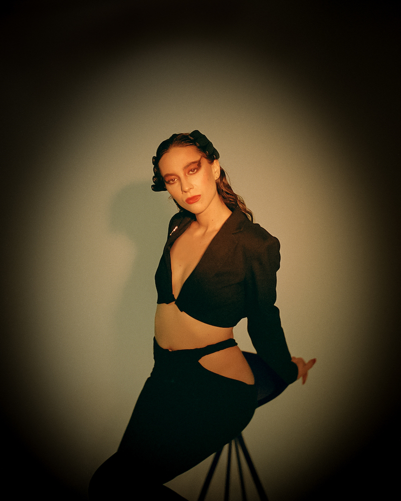 "Abby Diamond - ""Cool Water"" press photo"