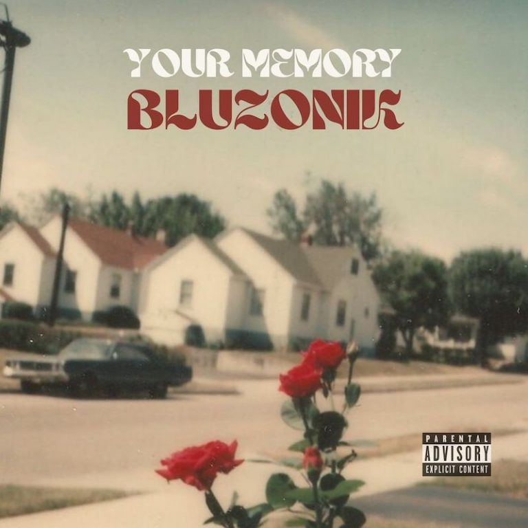 """BLUZONIK - """"Your Memory"""" song cover art"""