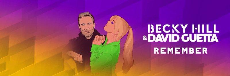 Beck Hill and David Guetta Remember banner