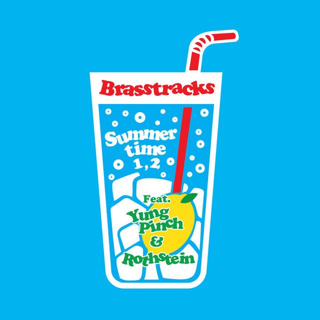 """Brasstracks - """"Summertime 1, 2"""" song cover art"""
