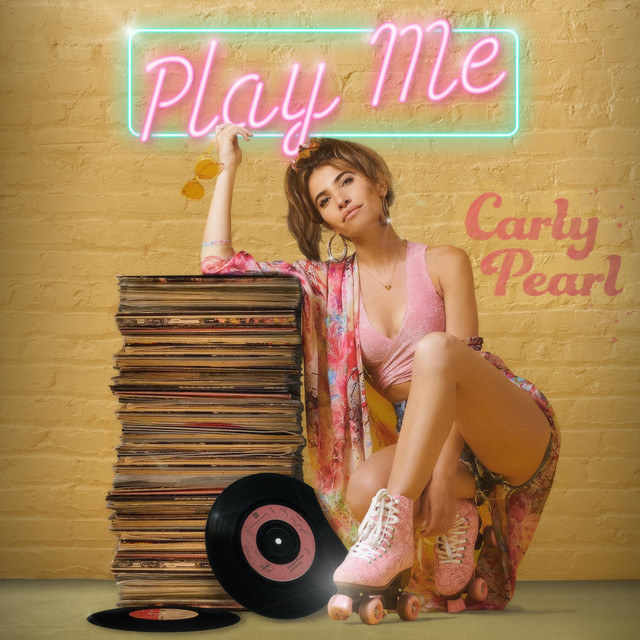 """Carly Pearl - """"Play Me"""" song cover art"""