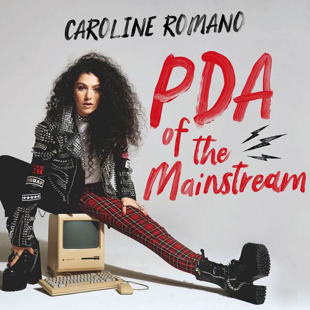 "Caroline Romano - ""PDA of the Mainstream"" song cover art"