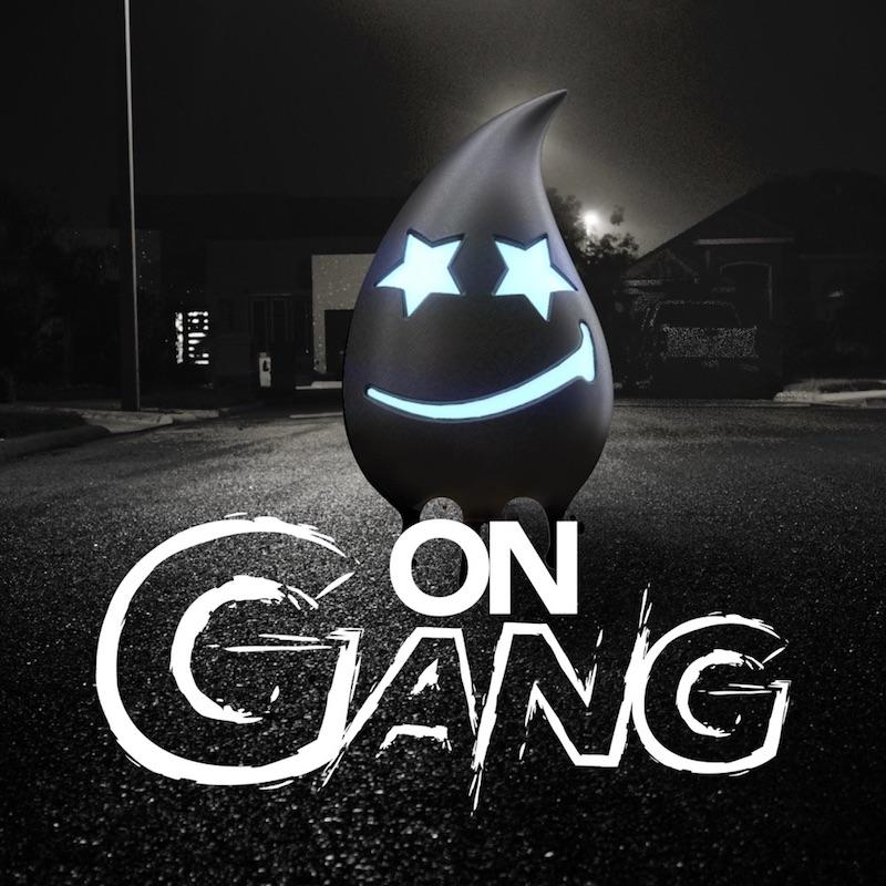 """Drew Raine - """"On Gang"""" song cover art"""