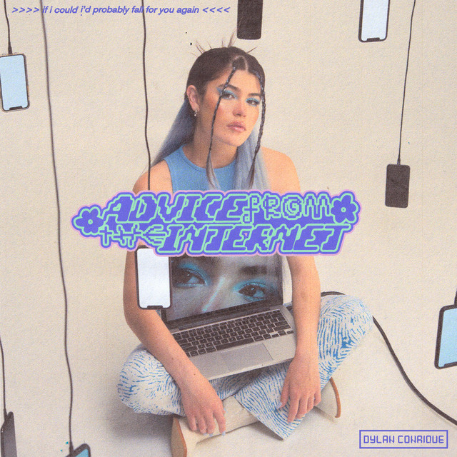 """Dylan Conrique - """"Advice from the Internet"""" song cover art"""