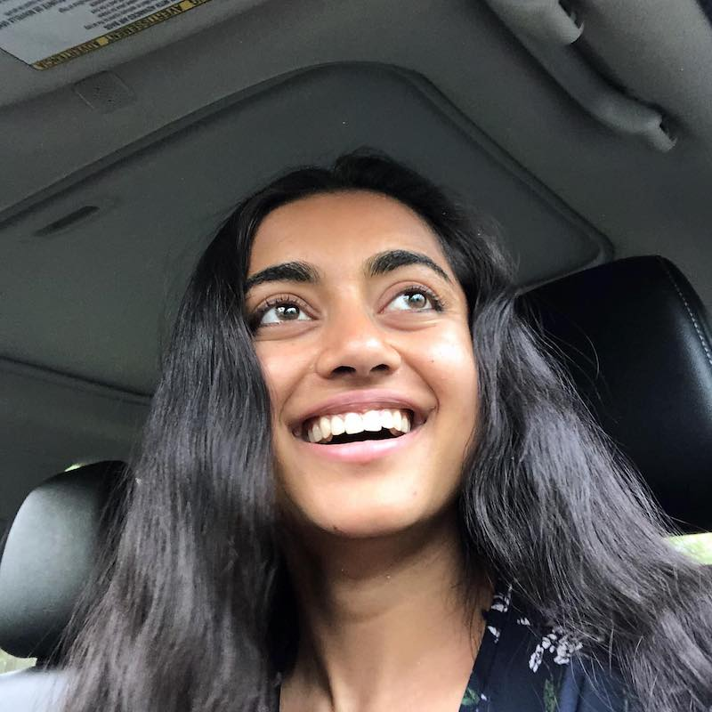 EASHA press photo inside of a car laughing