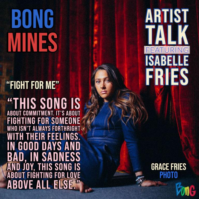 Isabelle Fries Bong Mines Artist Talk Cover