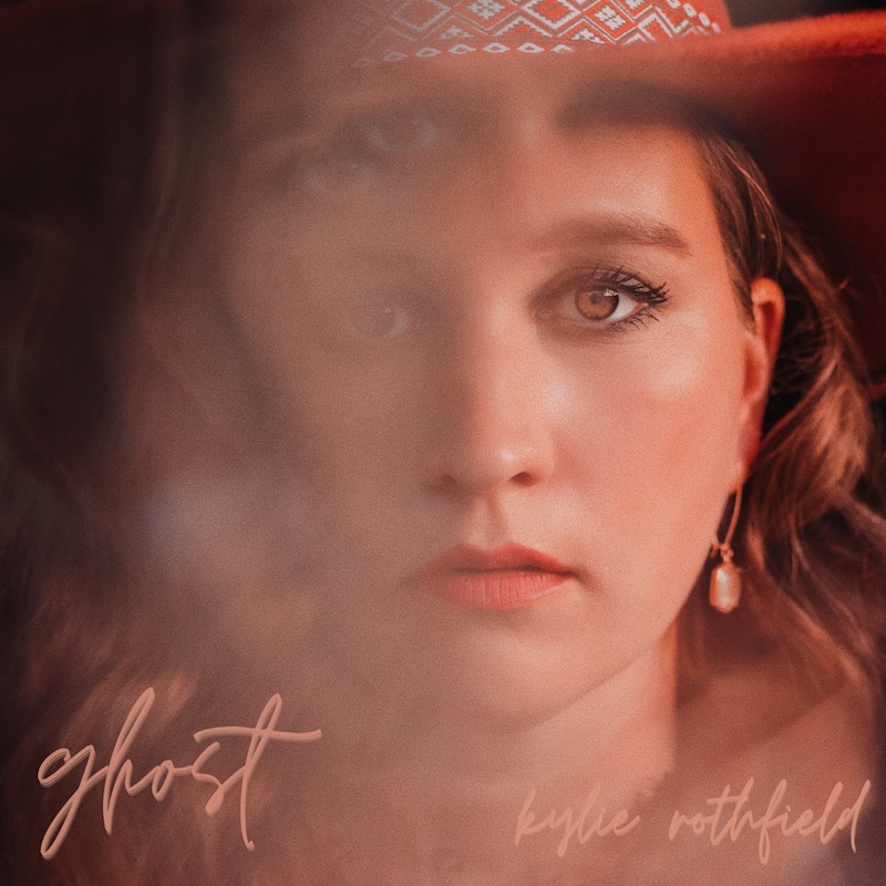 """Kylie Rothfield - """"Ghost"""" song cover art"""