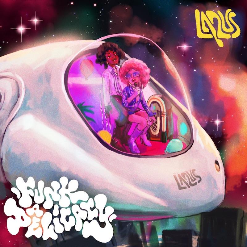 "La2us - ""Funkadelicacy"" song cover art"
