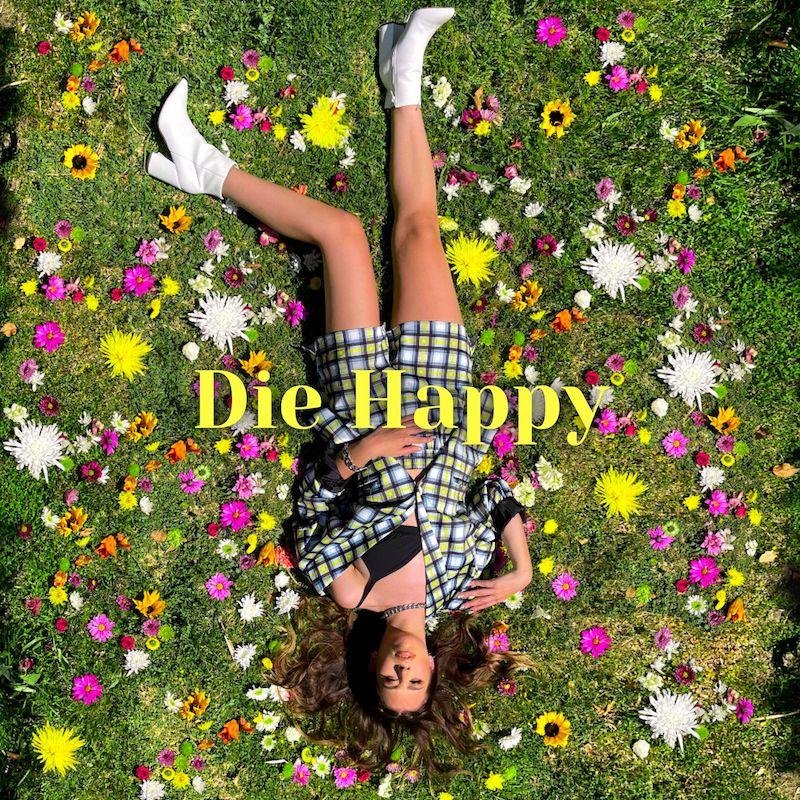 "Miranda Glory - ""Die Happy"" song cover art"
